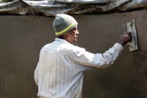 The Water Project: Ebukanga Primary School -  Construction