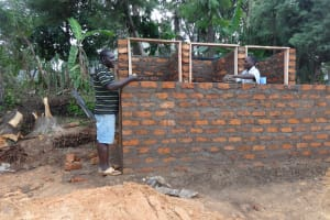 The Water Project: Chief Mutsembe Primary School -  Latrine Construction