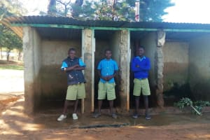 The Water Project: Eregi Mixed Primary School -  Latrines Without Doors