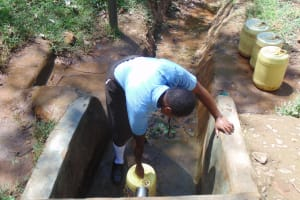 The Water Project: Friends Emanda Secondary School -  Fetching Water