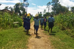 The Water Project: Namalenge Primary School -  Making The Rounds