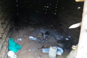 The Water Project: Bushevo Community, David Enani Spring -  Inside Kitchen