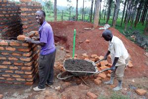 The Water Project: Ebukanga Primary School -  Latrine Construction