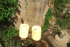 The Water Project: Shiyunzu Primary School -  Eshiyunzu Spring Where Students Fetch Water