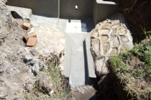 The Water Project: Shikoti Community -  Concrete Drying