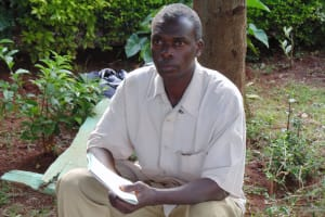 The Water Project:  A Village Elder Attending The Trainings