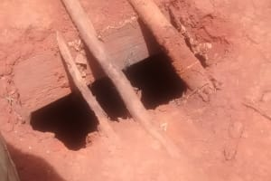 The Water Project: Shitoto Community, Laurence Spring -  Dangerous Latrine Floor