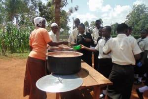 The Water Project: Evojo Secondary School -  School Lunch