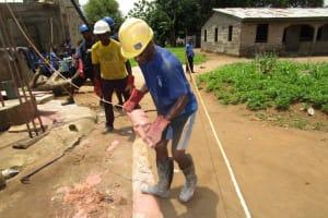 The Water Project: Benke Community, Brima Lane -  Drilling