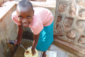 The Water Project:  Anita Andisi Drawing Water With Ease