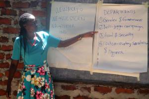 The Water Project: Lwangele Primary School -  Field Officer Jacky Khalemesi