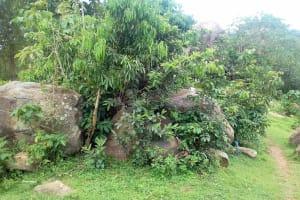 The Water Project: Irungu Community, Irungu Spring -  Rocky Landscape
