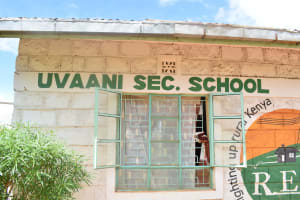 The Water Project: Uvaani Secondary School -  School Name