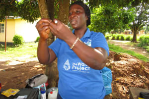 The Water Project: Royema Community A -  Hygiene Trainer