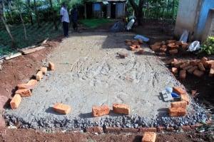 The Water Project: Digula Secondary School -  Latrine Foundation