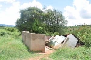 The Water Project: Uvaani Secondary School -  Boys Latrines