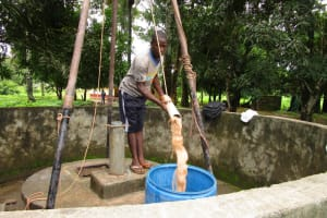 The Water Project: Royema Community A -  Flushing
