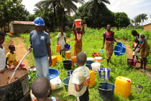 The Water Project: Royema Community A -  Yield Testing