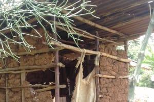 The Water Project: Irungu Community, Irungu Spring -  Latrine