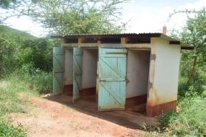 The Water Project: Uvaani Secondary School -  Girls Latrines