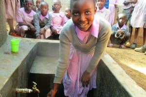 The Water Project: Lwangele Primary School -  Clean Water