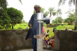 The Water Project: Royema Community A -  Pump Installation