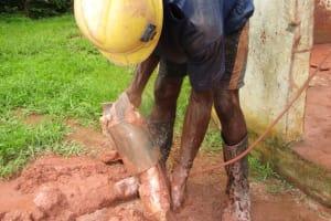 The Water Project: Kulafai Rashideen Primary School -  Drilling