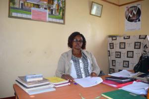 The Water Project: Uvaani Secondary School -  Headteacher Ruth Mutuku