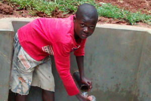 The Water Project: Wamuhila Community, Isabwa Spring -  Clean Water