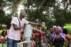 The Water Project: Royema Community A -  Clean Water