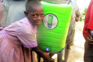 The Water Project: Lwangele Primary School -  Hand Washing Stations