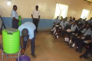 The Water Project: Digula Secondary School -  Hand Washing