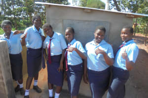 The Water Project: Digula Secondary School -  New Latrines