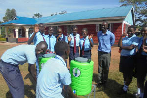 The Water Project: Digula Secondary School -  Hand Washing Stations