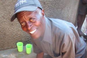 The Water Project: Lwangele Primary School -  Mr John Ovita