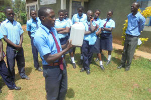 The Water Project: Digula Secondary School -  Solar Disinfection
