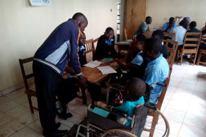 The Water Project: Friends Secondary School Shamakhokho -  Training