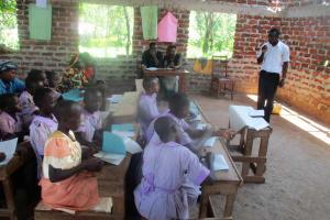 The Water Project: Lwangele Primary School -  Training