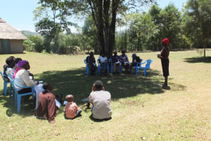 The Water Project: Chepkemel Community -  Reconnecting With The Group