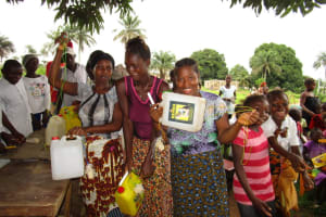 The Water Project: Royema Community A -  Making Hand Washing Stations