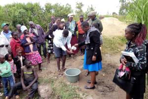 The Water Project: Chegulo Community, Shakava Spring -  Training