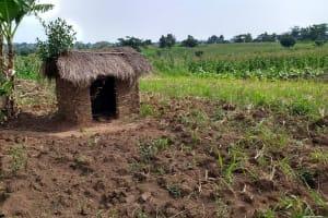 The Water Project: Abangi-Ndende Community -  Latrine