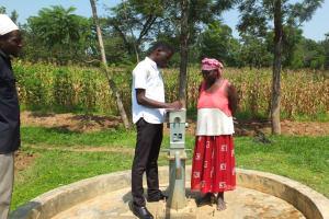 The Water Project: Matsakha B Well Rehabilitation Project -