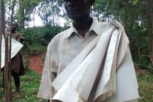 The Water Project: Wamuhila Community, Isabwa Spring -  Nazan Mafao A Village Elder In Attendance Of The Training