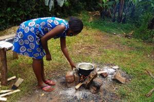 The Water Project: Matsakha A Community, Kombwa Spring -  Preparing A Meal