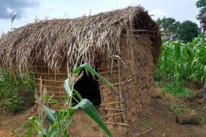 The Water Project: Karongo-Dum Community -  Latrine