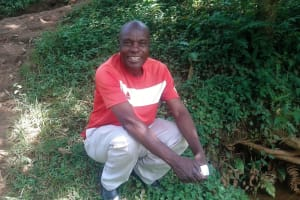 The Water Project: Mtao Community, Tifina Odari Spring -  Peter Kubai