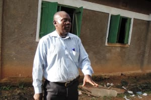 The Water Project: Essaba Primary School -  Teacher Amukowa