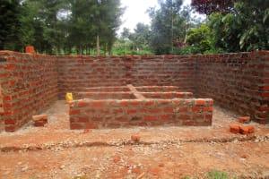 The Water Project: Lwangele Primary School -  Latrine Construction