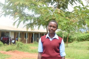 The Water Project: Uvaani Secondary School -  Mercy Mutheu